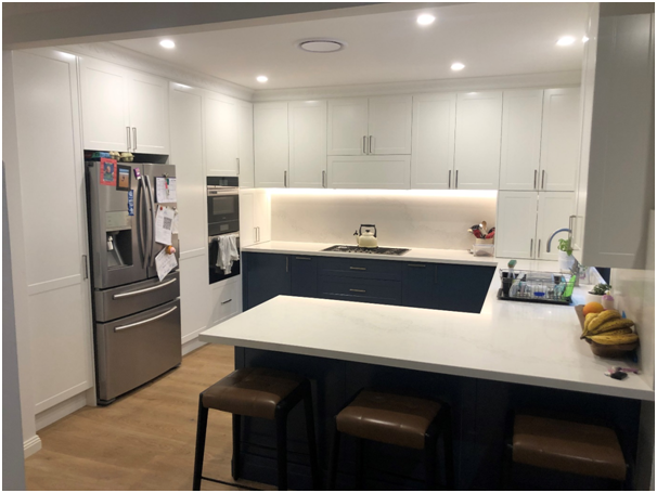 Kitchen renovation. Haberfield by Sydney City Contractors